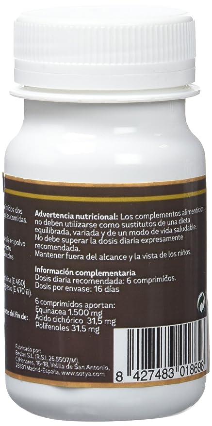 Sotya Equinácea, 100 Comprimidos, 500 mg: Amazon.es: Salud y ...