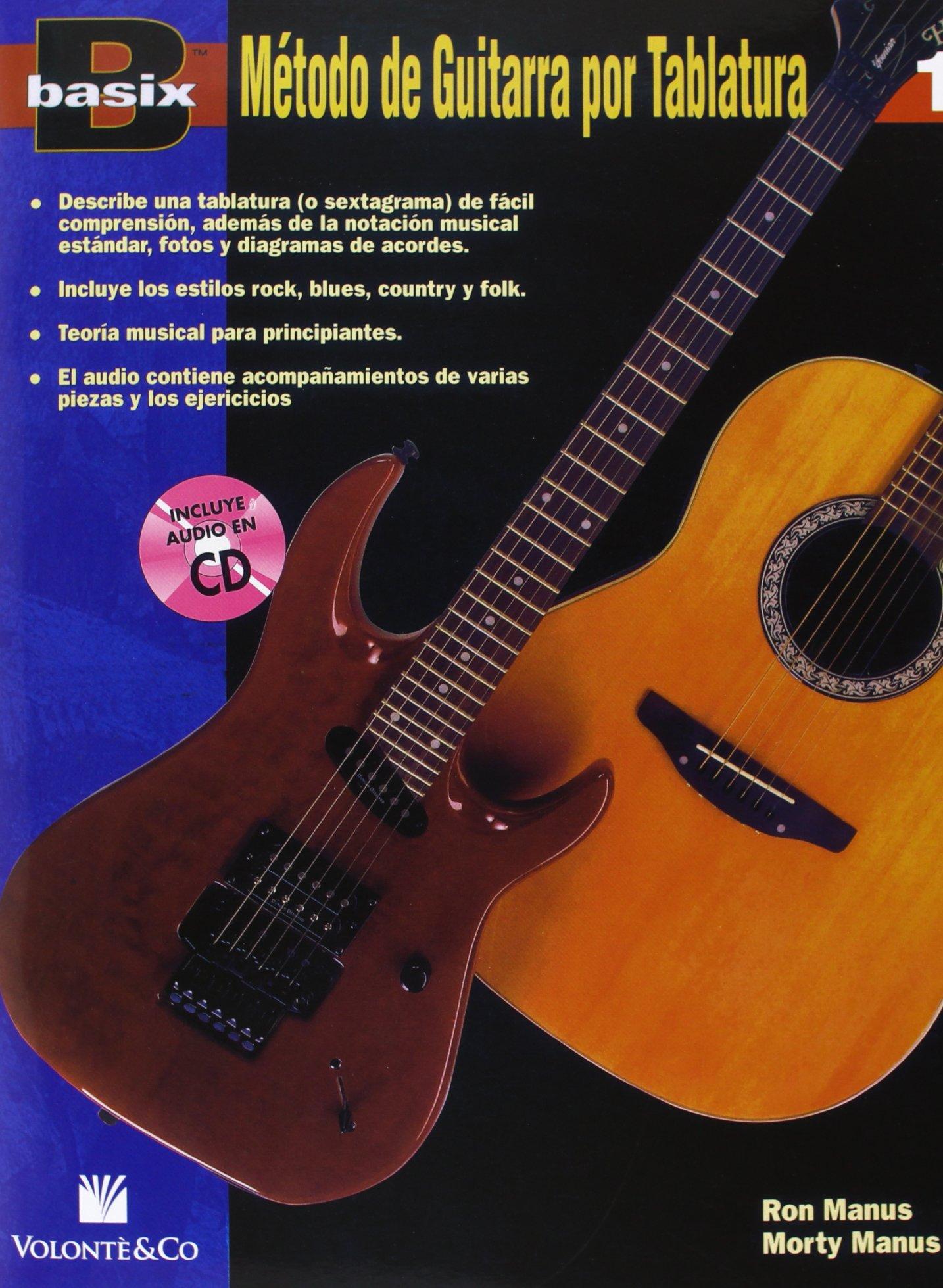 BASIX METODO GUITARRA 1 + CD: Amazon.es: Manus Ron/Manus Morty: Libros
