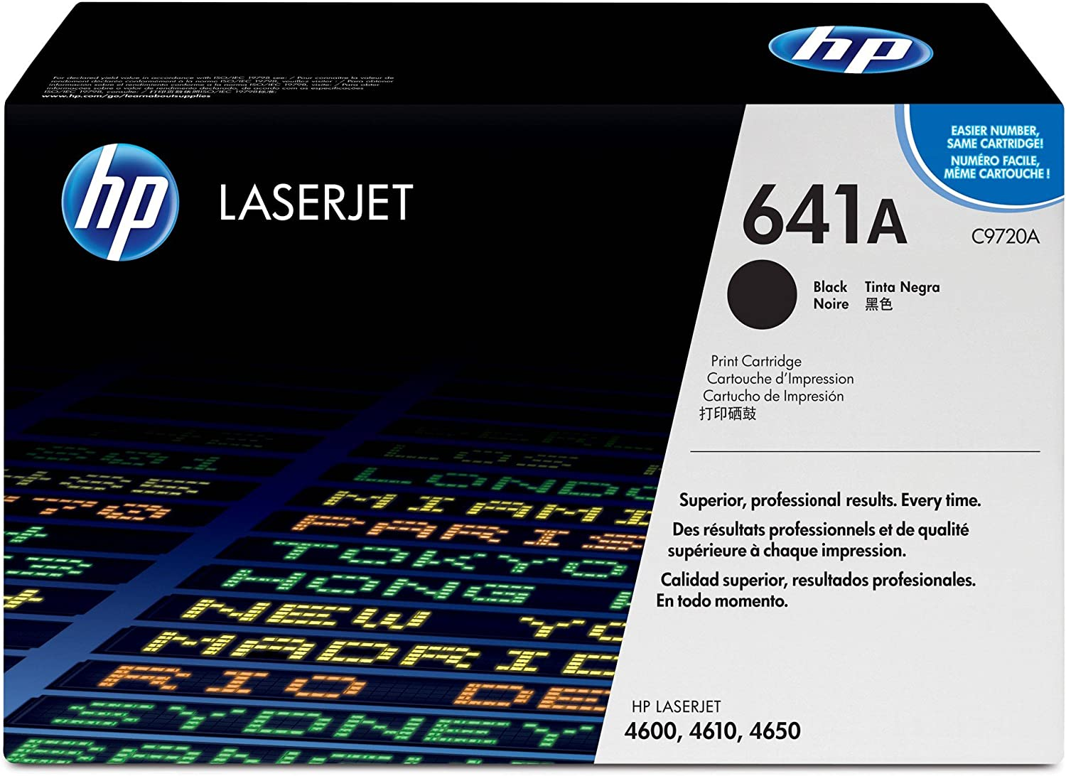 HP 641A | C9720A | Toner Cartridge | Black