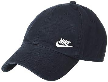 75979e2454e5c Nike W NSW H86 Futura Classic Chapeau Femme, Noir (Black/White 010 ...