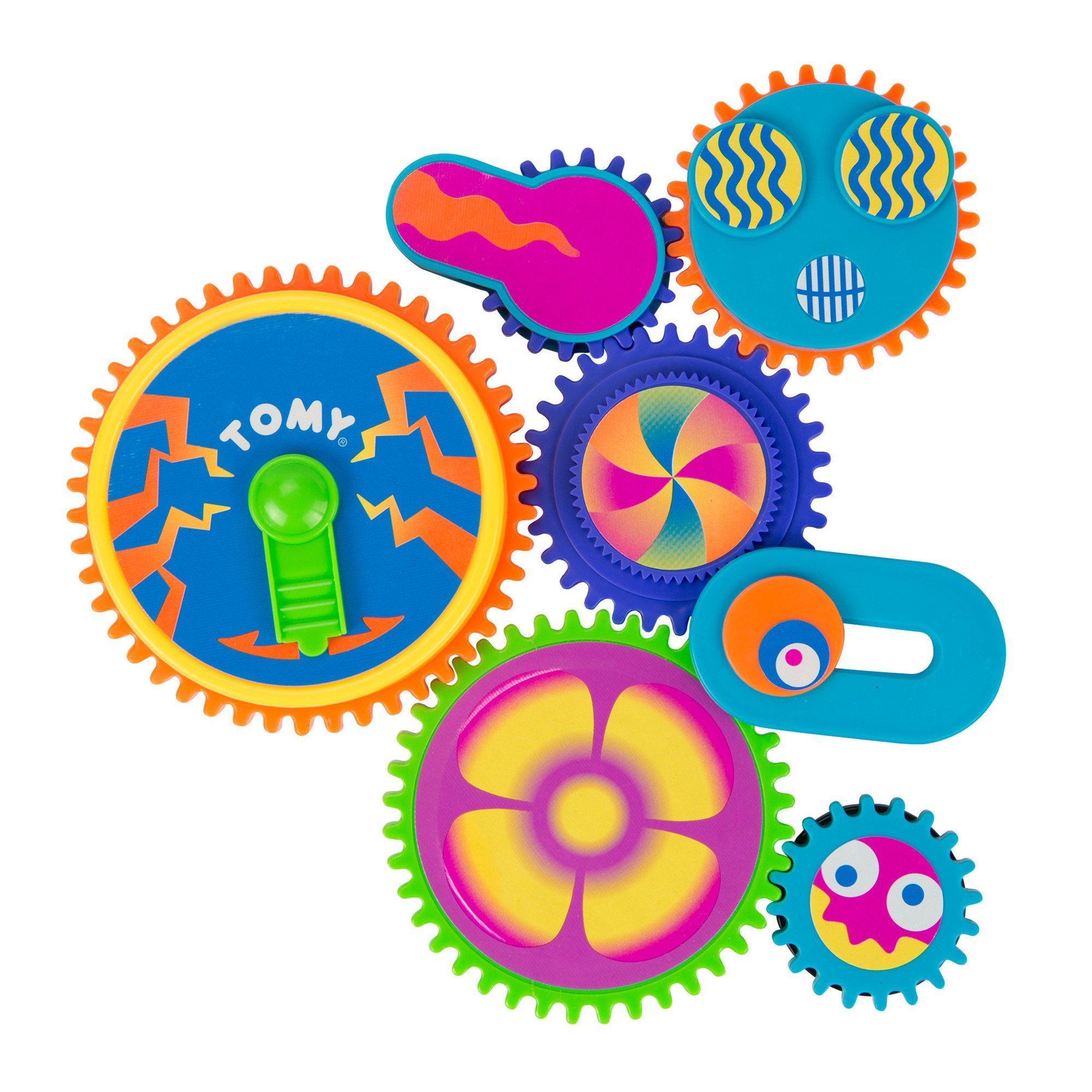TOMY Gearation Refrigerator Magnets by TOMY