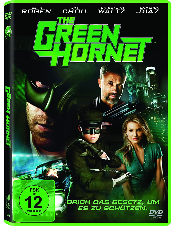 The Green Hornet Amazon De Seth Rogen Cameron Diaz Christoph Waltz Jay Chou Michel Gondry Seth Rogen Cameron Diaz Dvd Blu Ray