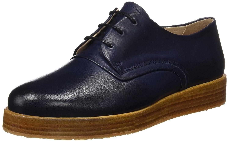 Neosens S060 Restored Skin Midnight/Baco, Zapatos de Cordones Oxford Para Mujer 38 EU|Azul (Midnight)