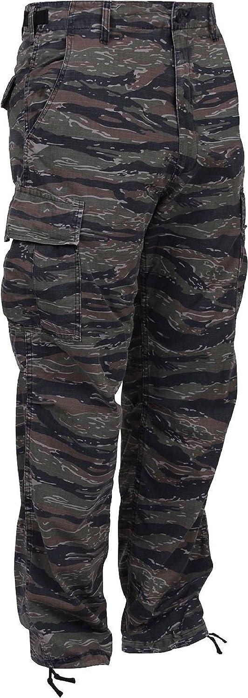 【使い勝手の良い】 タイガーストライプ迷彩軍BDU B07DCQYHV8 Bottoms Cargo Bottoms Fatigue Cargo Trouser迷彩パンツ Large B07DCQYHV8, スポーツサービスジム:6658780d --- a0267596.xsph.ru