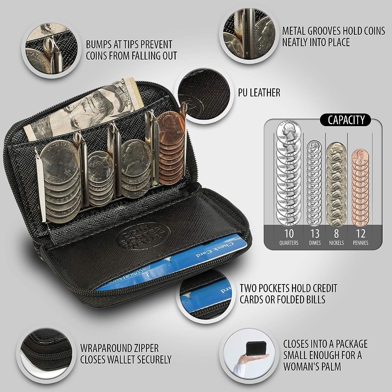 Amazon.com: Cartera con clasificadores para monedas, cambio ...