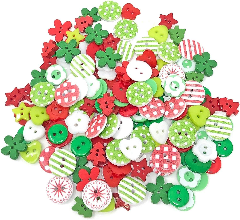 Special Touches Lot de 150 Boutons en r/ésine et Acrylique pour cr/éation de Cartes