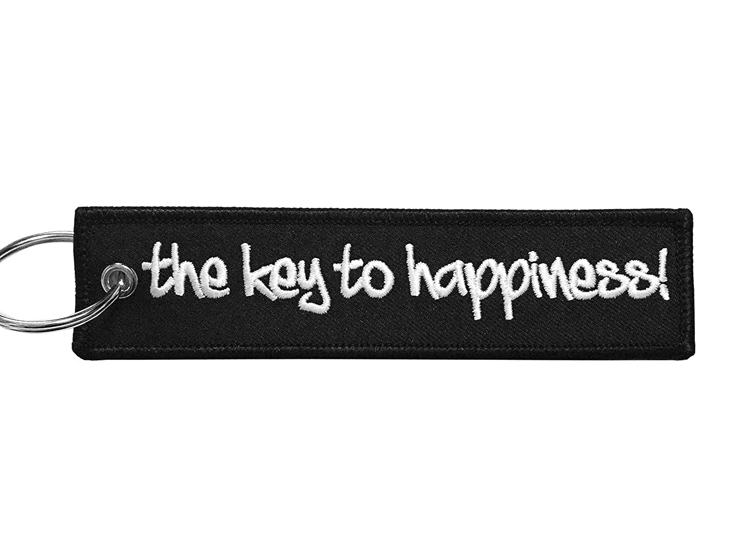 Moto Loot Keychain for Motorcycles, Scooters, Cars and Gifts (The Key to  Happiness)