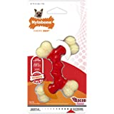 Nylabone Double Bone Power Chew Long-Lasting Dog Toy Bacon X-Small/Petite (1 Count)