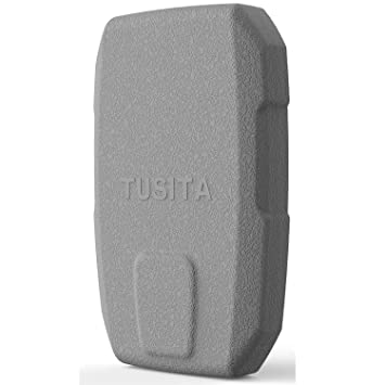 TUSITA Protective Cover with Screen Protectors for Garmin Striker 4 4cv 4dv  (NOT for Striker Plus 4 4cv), Replacement Silicone Case Accessories for