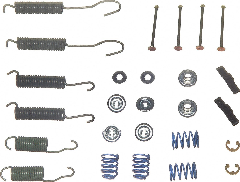Rear Wagner H17224 Drum Brake Hardware Kit