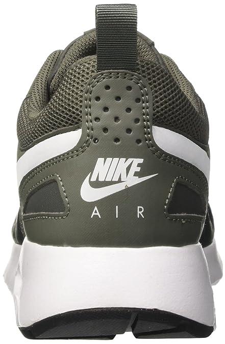 Mens Air Max Vision Low-Top Sneakers, Green (River Rock/White-Outdoor Green-Black), 6 UK (40 EU) Nike