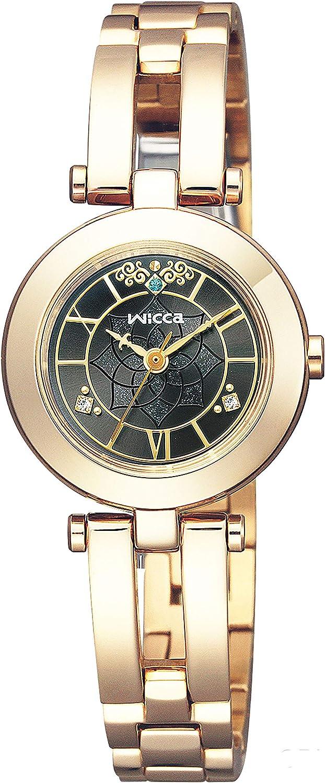 [シチズン] 腕時計 ウィッカ ソーラーテック Disneyコレクション ディズニーアニメーション「アラジン」限定ウォッチ シンプルアジャスト KP5-221-51 レディース ゴールド