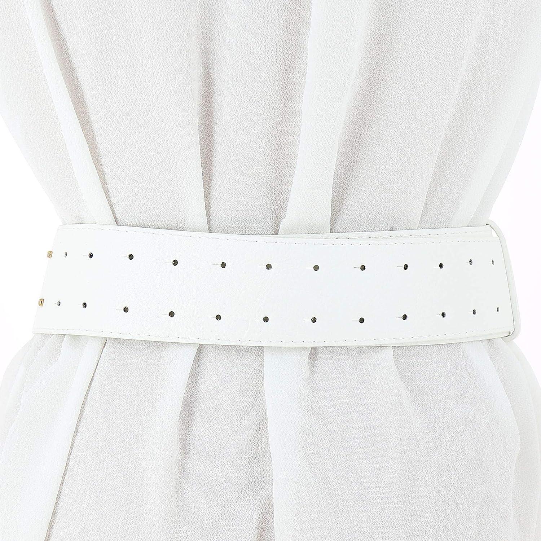 VANESSA leatherette large belt FASHIONGEN