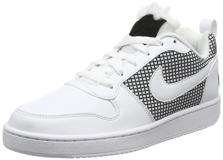 super popular 2b255 0b206 Nike Court Borough Se, Scarpe Scarpe Scarpe da Basket Donna B06WLLLGC7 40  EU Bianco (