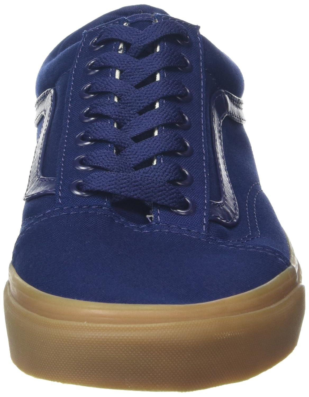 Vans Unisex Old Skool Classic Skate Shoes B01CRB6OUE 5.5 M US Women / 4 M US Men|Eclipse/Light Gum