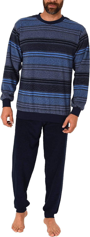 auch in /Übergr/össen 61505 Eleganter Herren Frottee Pyjama Schlafanzug lang mit B/ündchen