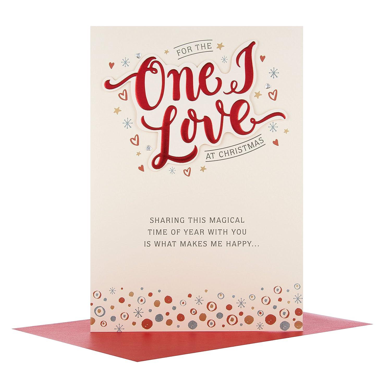 Medium Hallmark Christmas Card To Mum /'Happy Family Times/'