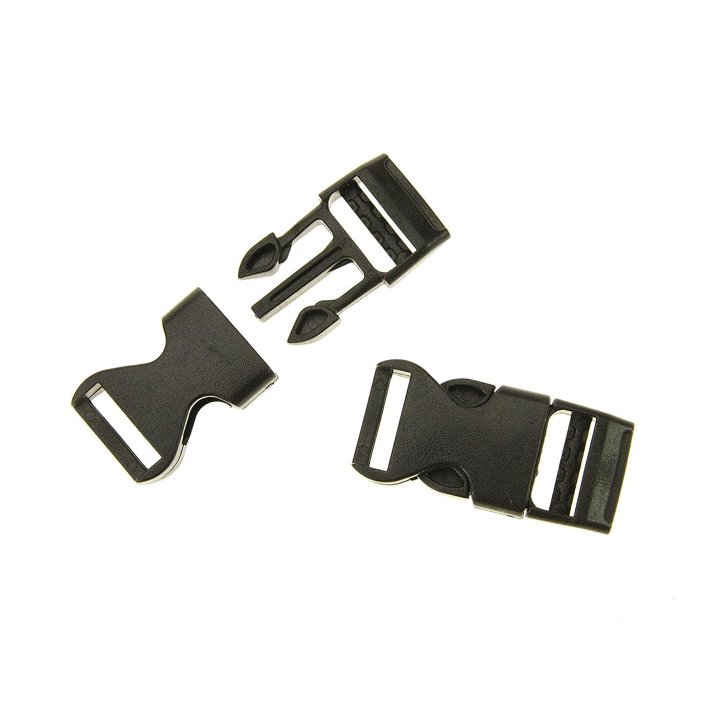 Prym 16 mm Clip Plastic Buckles, Black PRYM_416340-1