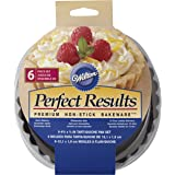 Wilton Perfect Results Premium Non-Stick Bakeware Round Tart and Quiche Pans, Sunday Brunch May Never be the Same Again…