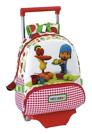 Pocoyó - Mochila infantil con ruedas (Safta 611414020): Amazon.es: Equipaje