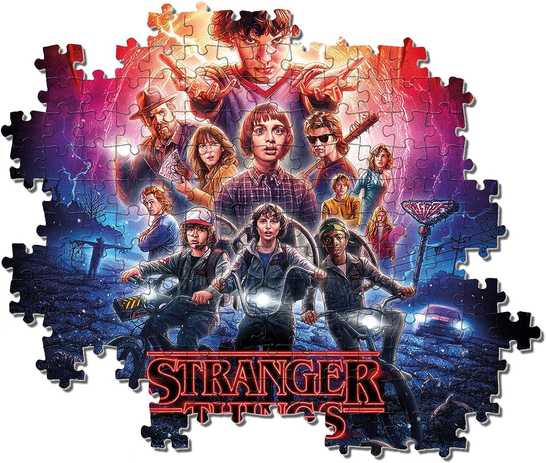 Clementoni 2-1000 teile-Stranger Things Puzzle, Multicolore, 1000 pezzi,  39543: Amazon.it: Giochi e giocattoli