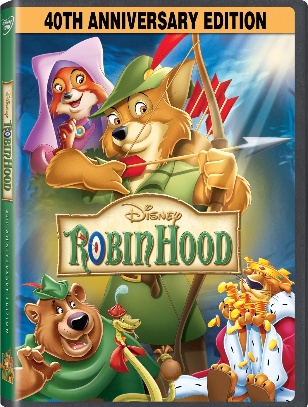 Robin Hood: 40th Anniversary Edition (Bilingual) Brian Bedford Phil Harris Roger Miller Peter Ustinov