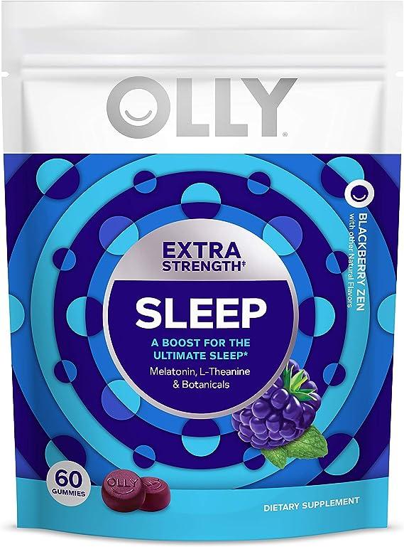 Amazon Com Olly Extra Strength Sleep Melatonin Gummy All Natural