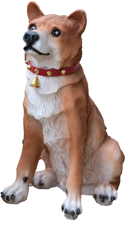 国華園 ワンワン吠えるオーナメント 柴犬(大) B00PBIC7Y8  大