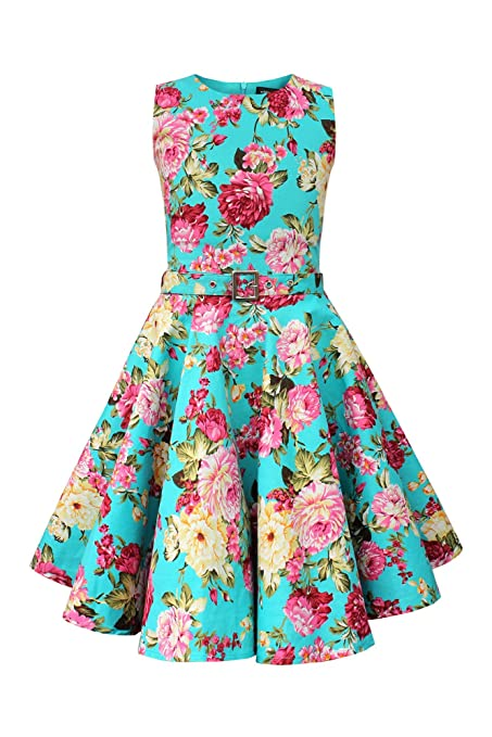 Vintage Style Children's Clothing: Girls, Boys, Baby, Toddler BlackButterfly Kids Audrey Vintage Divinity 50s Girls Dress $31.99 AT vintagedancer.com