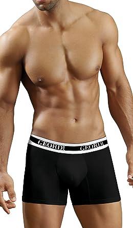 Diane & Geordi 5172 Men Underwear Boxer Ropa Interior Hombre Black XL