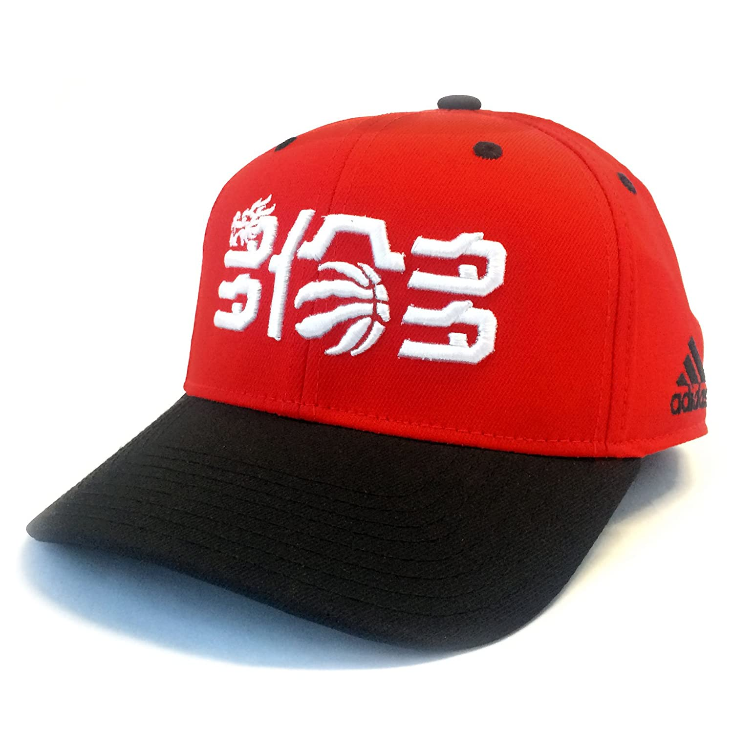 adidas BW2238 NBA Toronto Raptors Chinese Year Structured Adjustable ... 0a7c680362d