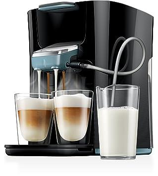 Philips Senseo HD7856 Máquina de café en cápsulas 1L Negro, Azul - Cafetera (Independiente