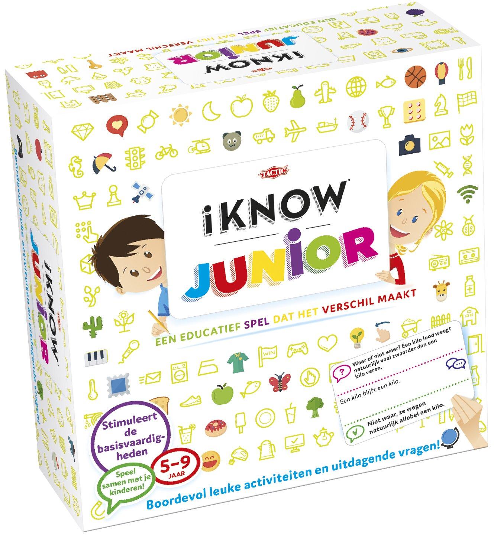01e5332829a9 Tactic iKNOW Junior Niños Juego educativo - Juego Juego Juego de tablero  (Juego educativo