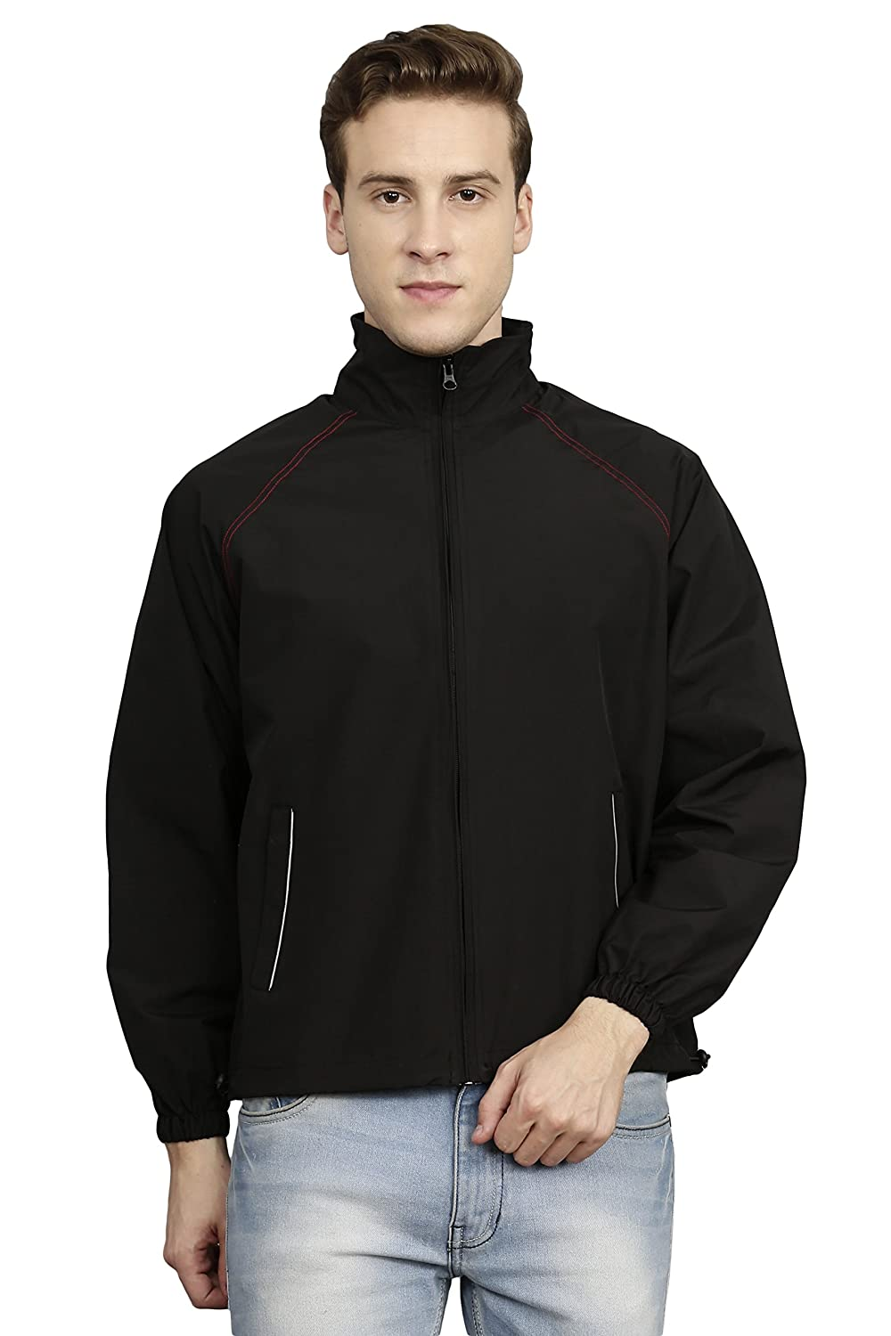 baac6730b VERSATYL- Feather-2.0 100% Water Proof Polyester Jacket for Men and Women:  Amazon.in: Clothing & Accessories