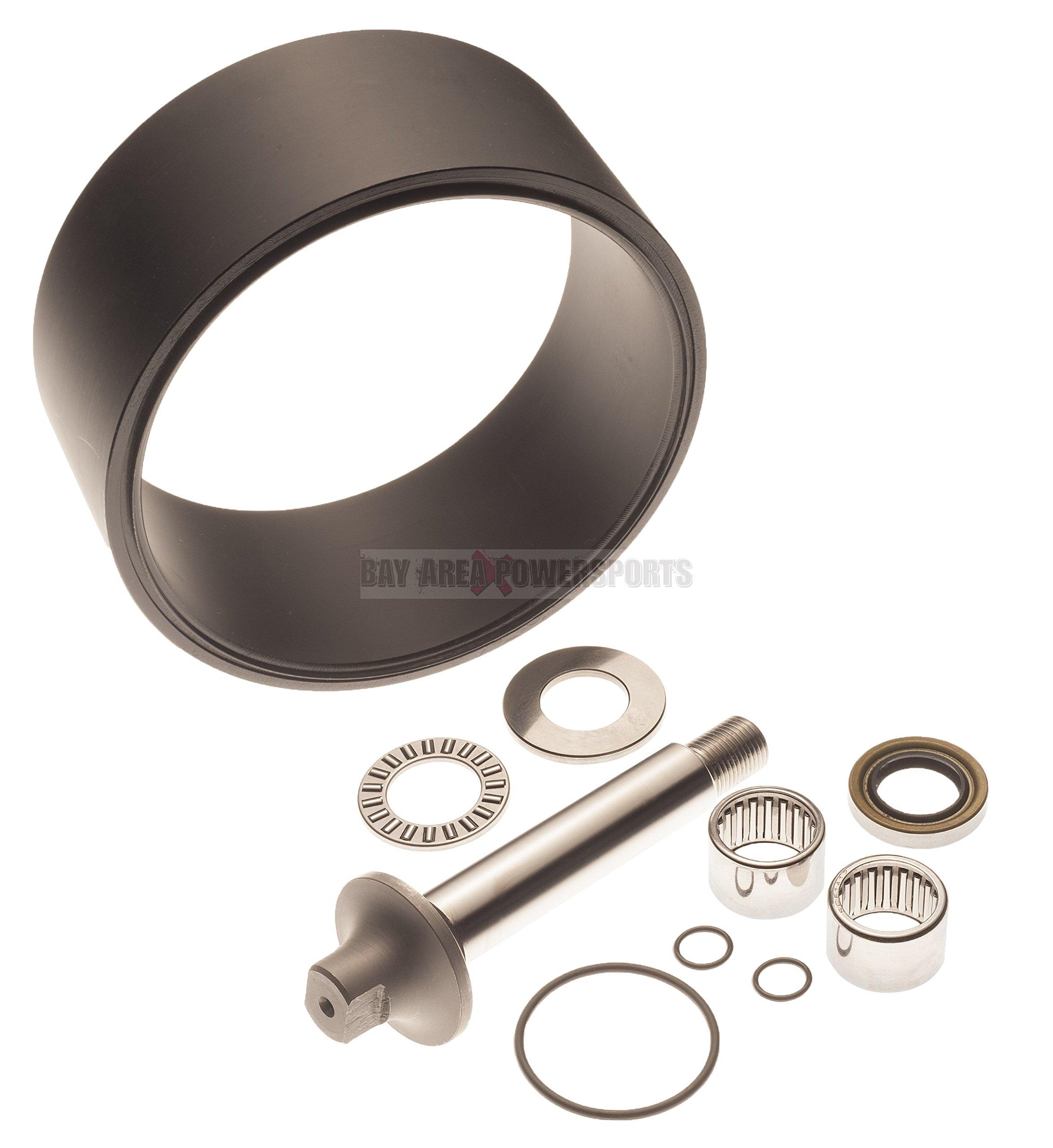 SeaDoo Complete Pump Rebuild Kit Wear Ring Shaft Bearing 717 720 GS HX GSI SP by Aftermarket SeaDoo