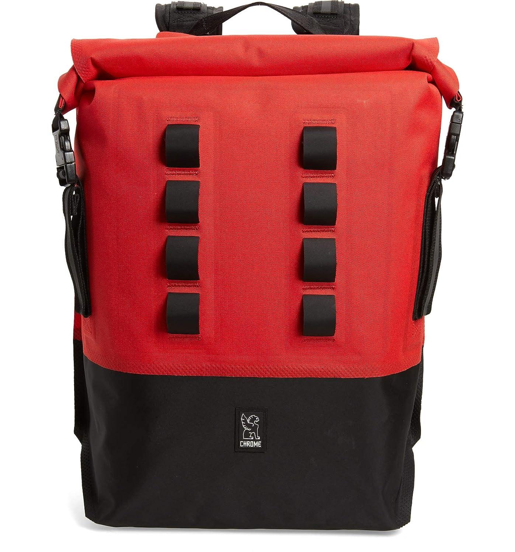 (フィルソン) Filson Men`s Urban Ex Rolltop Waterproof Backpack メンズ バッグ パソコンバッグ (並行輸入品) B07PLTGZSV レッド/ブラック One Size