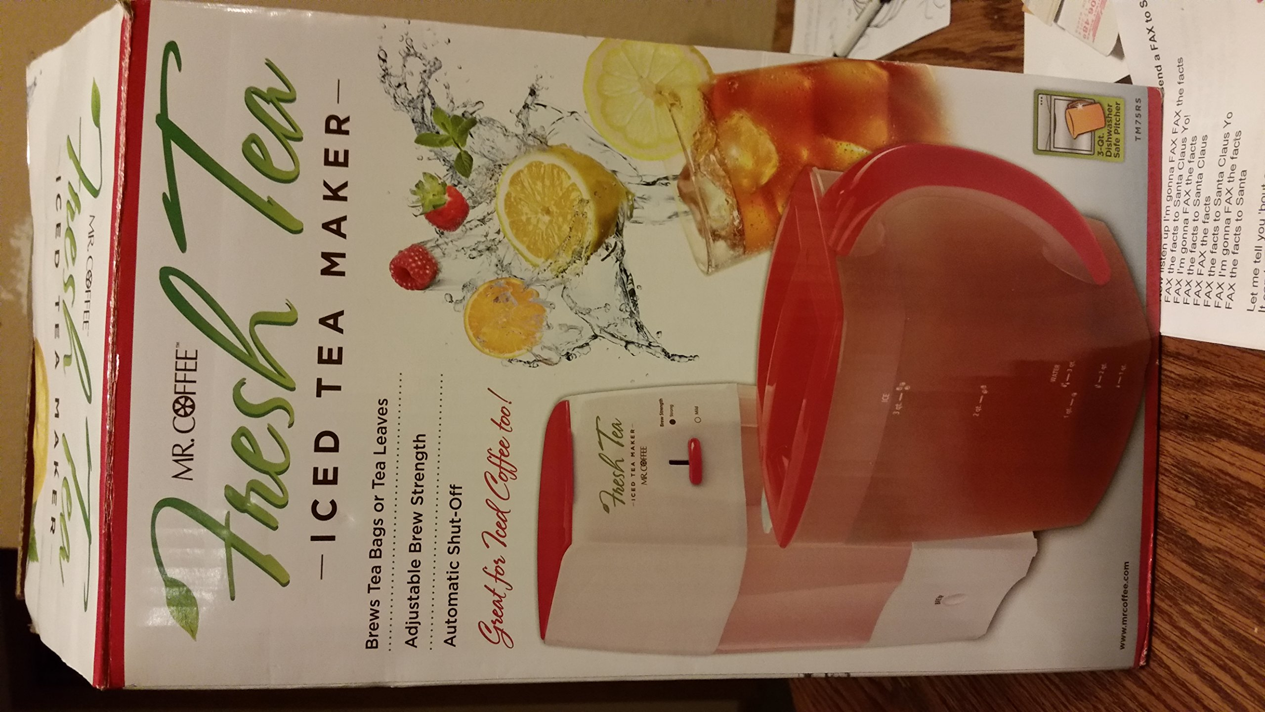 Mr. Coffee Fresh Tea Iced Tea Maker by Mr. Coffee