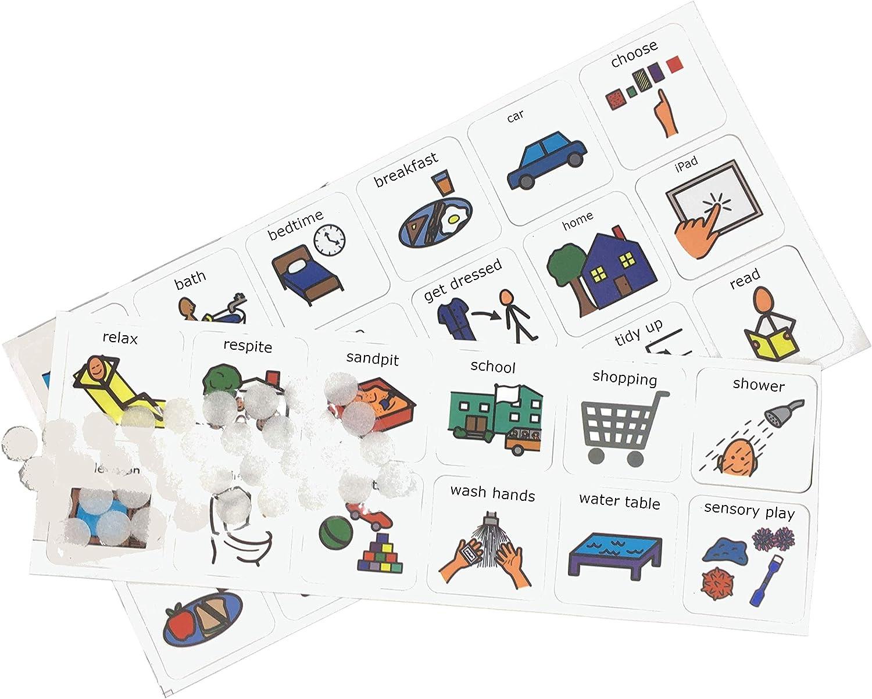 Autism Supplies & Developments- Plástico Visual Now Next Later Board (Español) (Autism Supplies and Developments NNL_EN): Amazon.es: Juguetes y juegos