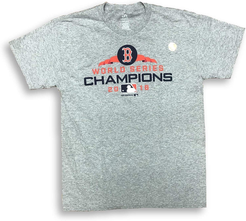 2018 Boston Red Sox World Series Champions Image Men/'s T-Shirts