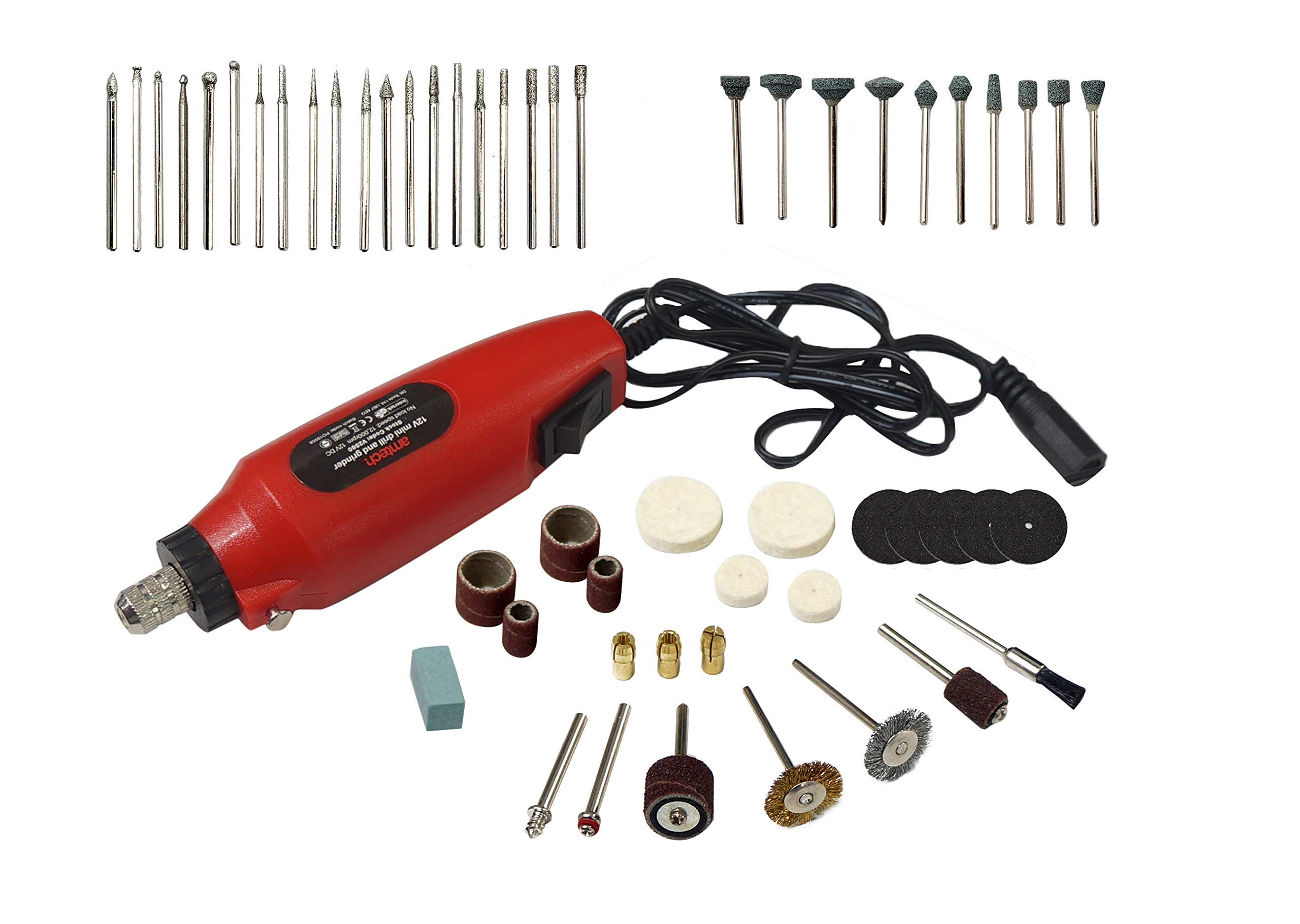 15000r//m Mini Drill Grinder Electric Variable Speed Rotary Craft Milling Tools
