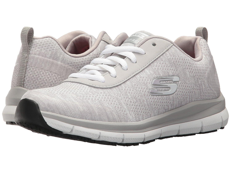 (スケッチャーズ) SKECHERS レディースワークシューズナースシューズ靴 Comfort Flex SR HC [並行輸入品] B07FRY64G4 9 (26cm) B Medium|ブルー/グリーン ブルー/グリーン 9 (26cm) B Medium