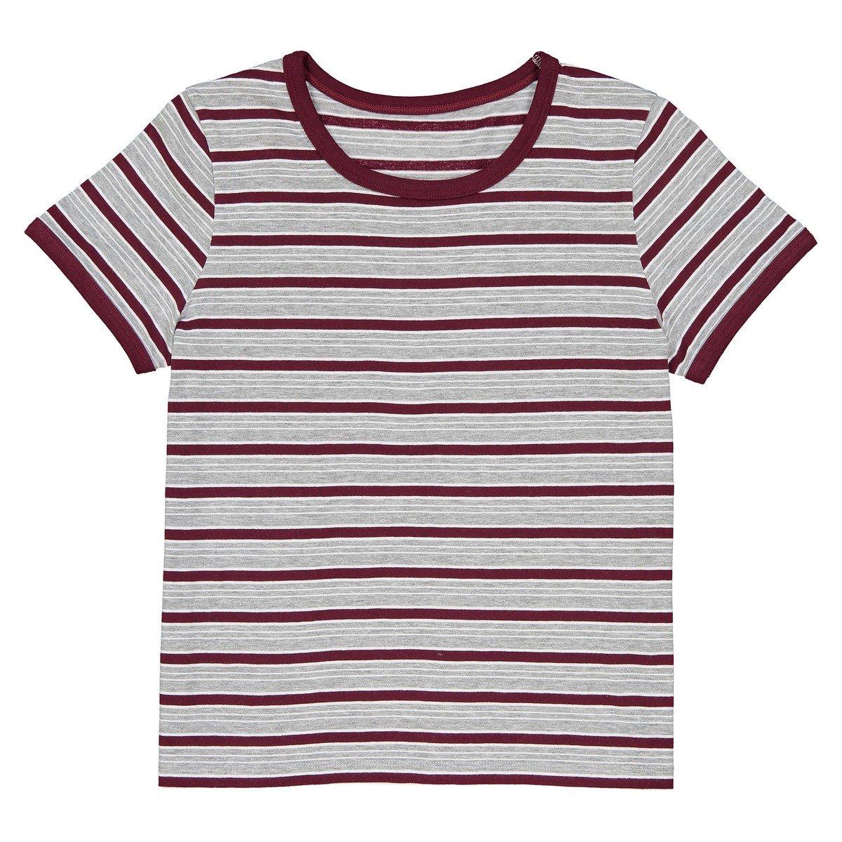 La Redoute Collections Bambina Tshirt Maniche Corte A Righe 1016 Anni 350113182