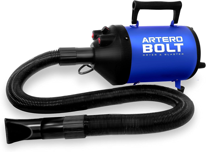 Secador y Expulsador para perros portátil. Artero Bolt.