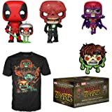 Funko Marvel Collector Corps Subscription Box, Marvel Zombies Theme, September 2020 - M T-Shirt