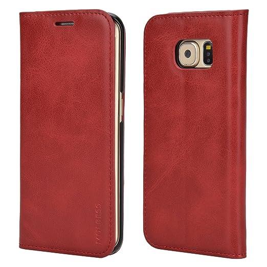14 opinioni per Custodia Samsung Galaxy S6 Edge, Cover Samsung Galaxy S6 Edge, Mulbess