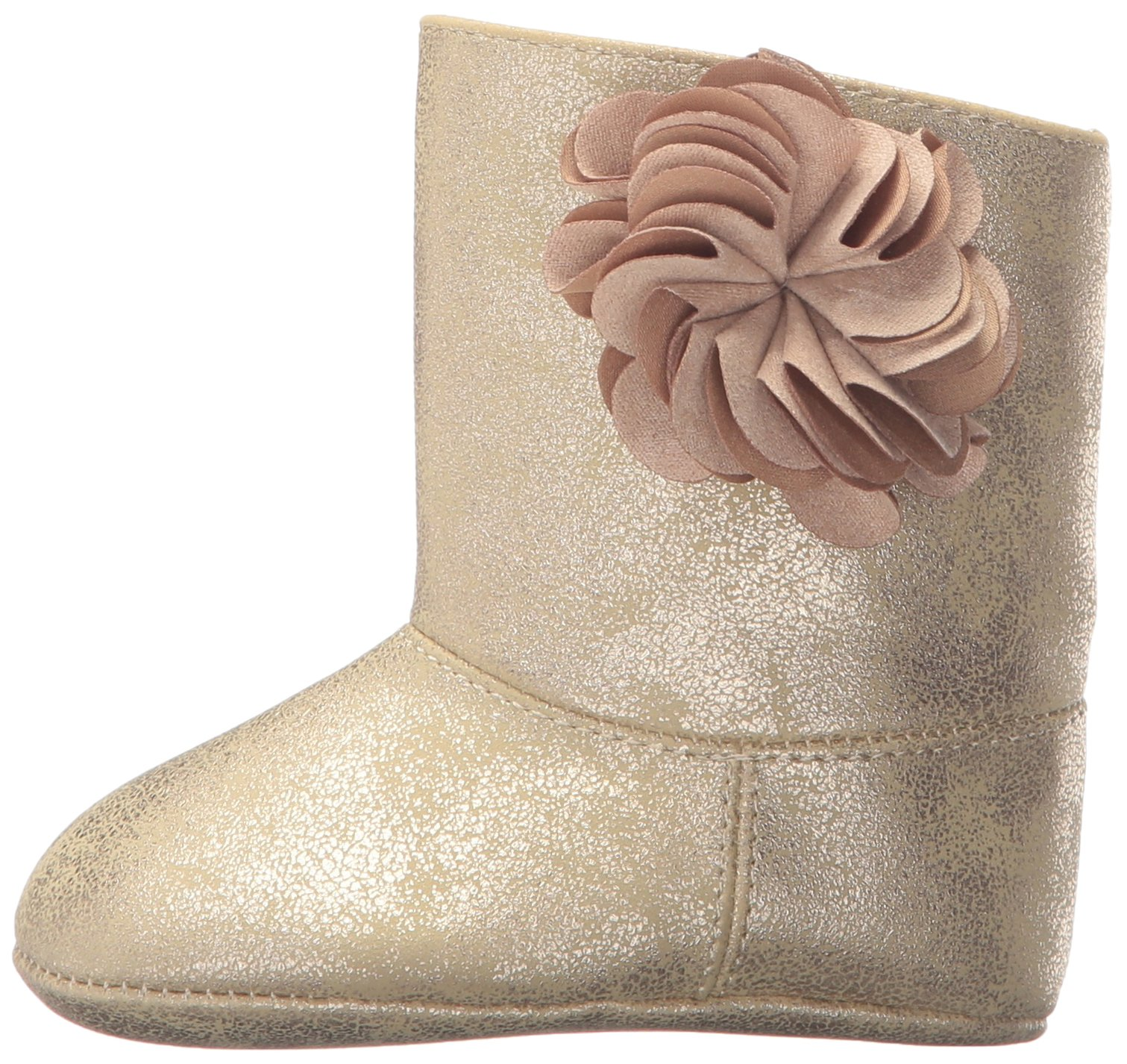 Baby Deer Girls' 02-4772 Fashion Boot, Champagne, 3 Child US Infant
