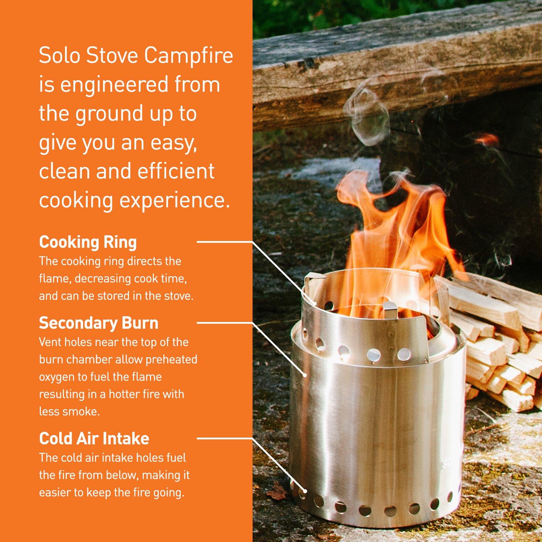 Réchaud Solo Stove Campfire Le Plus Grand Solo Stove Ensemble