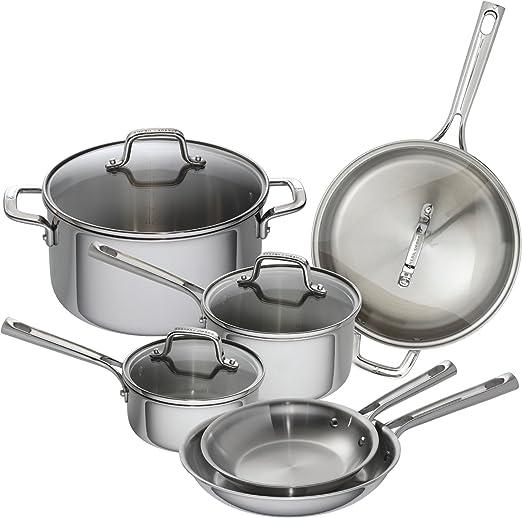Amazon.com: Emeril 62850 Lagasse - Batería de cocina de ...