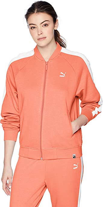 PUMA Classics Logo T7 - Chaqueta de chándal para Mujer: Amazon.es ...
