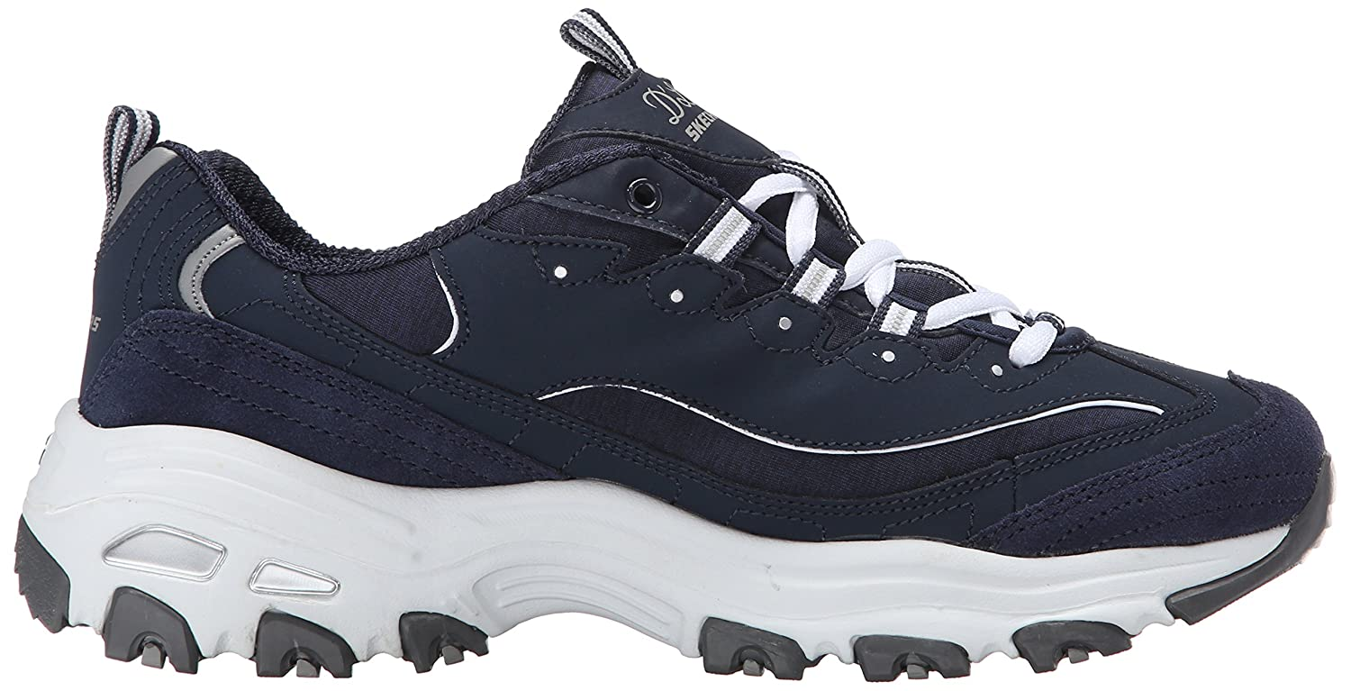 Skechers-D-039-Lites-Women-039-s-Casual-Lightweight-Fashion-Sneakers-Athletic-Shoes thumbnail 131